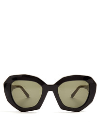Marni Ghost Angular Cat Eye Sunglasses