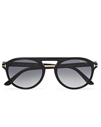 Tom Ford Jacob Aviator Style Acetate Sunglasses