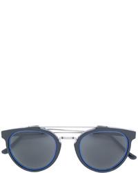 RetroSuperFuture Metallic Bar Sunglasses