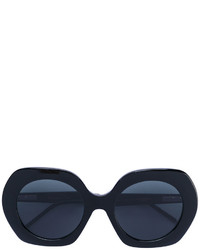Thom Browne Oversized Rounded Sunglasses
