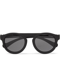 Moncler Round Frame Acetate Polarised Sunglasses