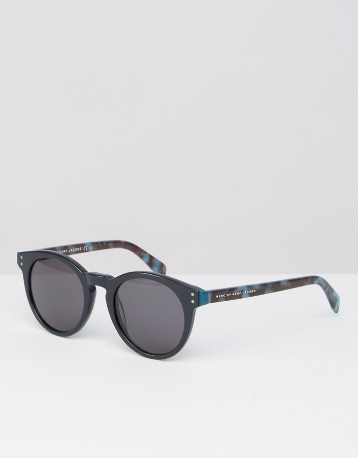 dee14ecb0fa6 Marc by Marc Jacobs Round Sunglasses Mmj 492s, £90 | Asos | Lookastic UK
