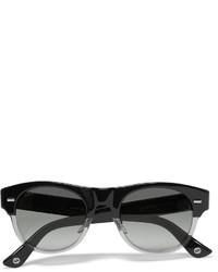 Square frame acetate sunglasses medium 705283
