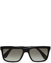 Square frame acetate sunglasses medium 815207