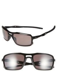 cac3eb344d Oakley Triggerman 59mm Polarized Sunglasses Black