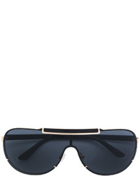 Versace Visor Aviator Sunglasses