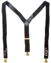 Rewind Vintage Affairs Rhinestone Embellished Suspenders