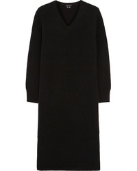 Theory Kambo Stretch Wool Blend Jersey Sweater Dress