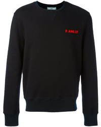 AMI Alexandre Mattiussi Family Sweatshirt