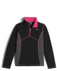 The North Face Girls Glacier Quarter Zip Fleece Pullover