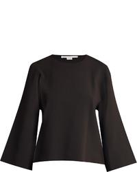 Stella McCartney Round Neck Slashed Sleeve Sweater
