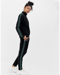 Blend She Candon Sports Stripe Trousers