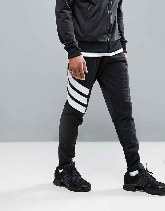 bfaf8a7d46e0d adidas Tango Skinny Joggers In Black Az9709   Where to buy   how to wear
