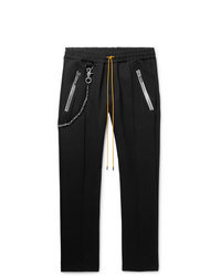 Rhude Traxedo Tapered Tech Jersey Drawstring Trousers