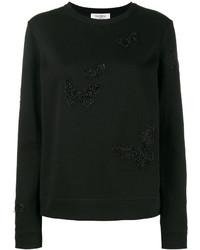 Valentino Beaded Butterfly Sweatshirt