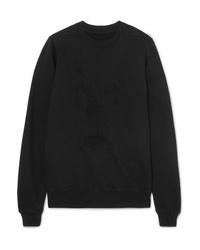 Rick Owens Embroidered Cotton Jersey Sweatshirt