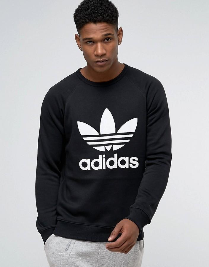 £47, adidas Originals Trefoil Crew Sweatshirt Ay7791