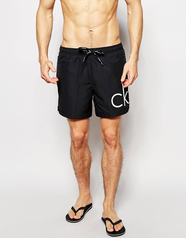 new styles af689 4a69f £58, Calvin Klein Core Solids Swim Shorts