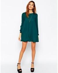 09a4b351c99 Asos Petite Mini Babydoll Swing Dress With Long Sleeve, £49 | Asos ...