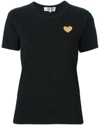 Comme des Garcons Comme Des Garons Play Gold Heart T Shirt