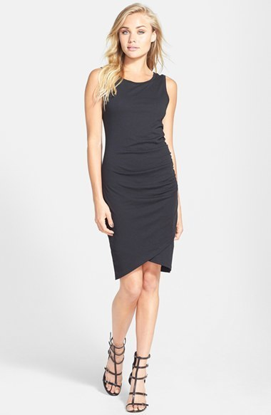 083f69064f3b ... Leith Ruched Body Con Tank Dress ...
