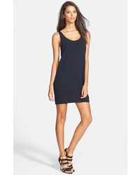 Leith Scoop Back Woven Tank Dress