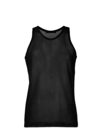 Helmut Lang Fishnet Tank Top
