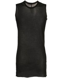 Rick Owens Sheer Fitted Tank Top