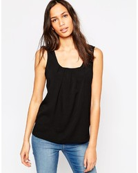 Vero Moda Sleeveless Tank Top With Pleated Front