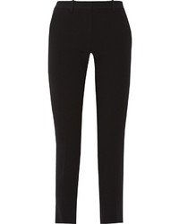 Rag & Bone Arrow Stretch Crepe Tapered Pants Black