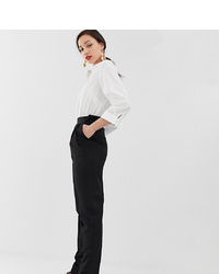 Asos Tall Asos Design Tall High Waist Tapered Trousers