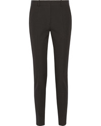 Victoria Beckham High Rise Wool Tapered Pants