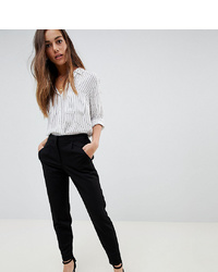 Y.A.S Petite Tailored Trouser With Elasticated Waist In Black