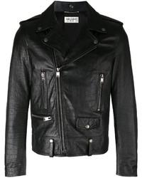 Scale textured biker jacket medium 3661138