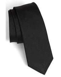 rag & bone Woven Silk Tie Black One Size