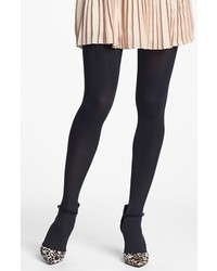 Nordstrom Everyday Opaque Tights Black Small