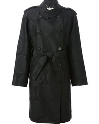 Stella McCartney Belted Polka Dot Trench Coat