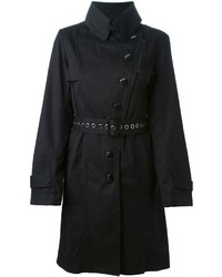 Armani Jeans Belted Trench Coat