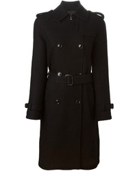 Moschino Boutique Belted Trench Coat