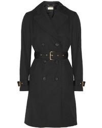 MICHAEL Michael Kors Michl Michl Kors Cotton Blend Trench Coat Black