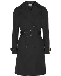 MICHAEL Michael Kors Michl Michl Kors Cotton Blend Trench Coat Black