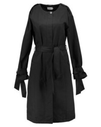 Only Onlcecilie Long Trenchcoat Black