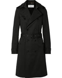 Saint Laurent Woven Trench Coat