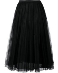 Valentino Tulle A Line Skirt