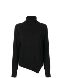 Zanone Asymmetric Roll Neck Jumper