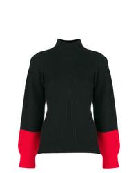 Eudon Choi Colourblock Turtleneck Sweater