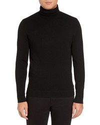 Theory Donners Trim Fit Cashmere Turtleneck
