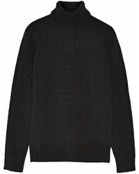 Michael Kors Michl Kors Collection Cashmere Turtleneck Sweater Black