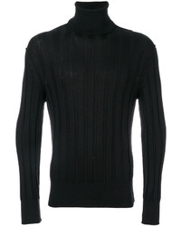 Ribbed roll neck jumper medium 4977637