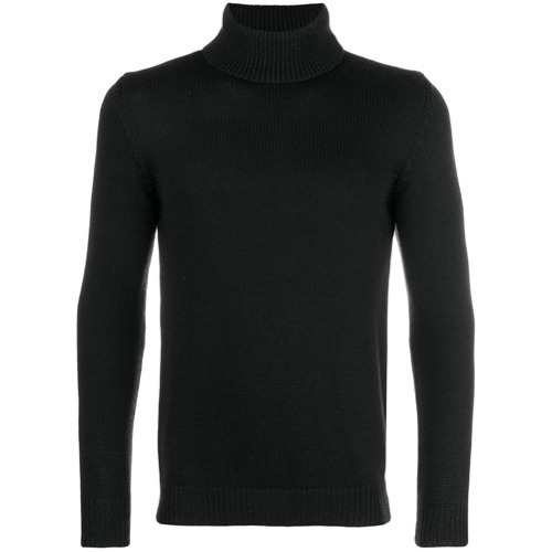 Roberto Collina Ribbed Turtleneck Jumper